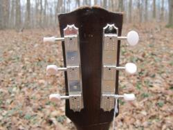 [1961 Gibson J-50 Headstock Rear]